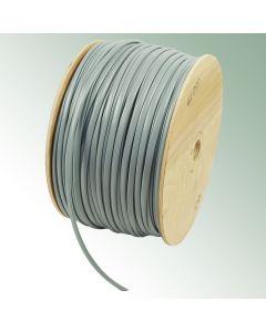 Tying tube 'jumbo roll' 7 mm grey 350 m