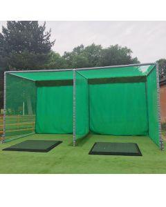 Double Enclosure Metal Frame -20ft x 10ft x 10ft